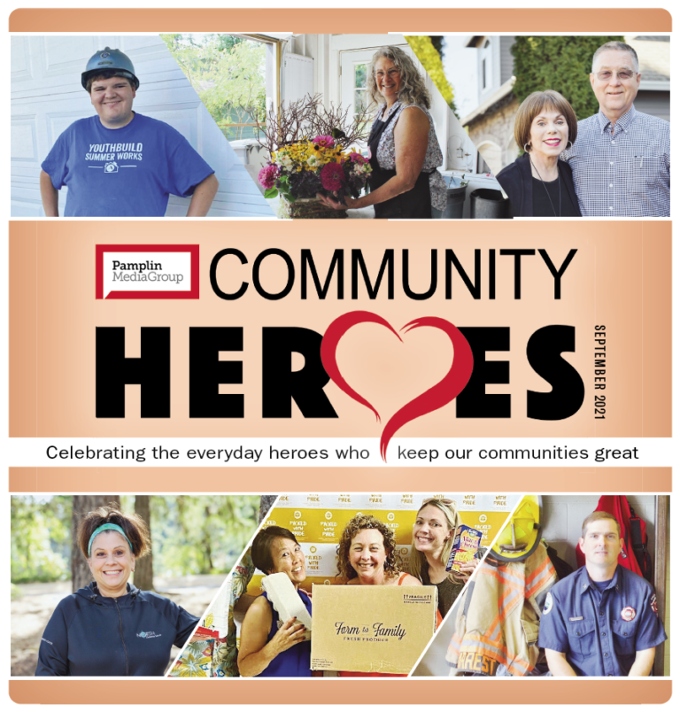 Community Heroes 2021 cover